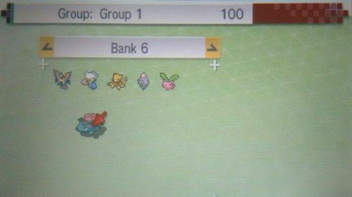 Pokémon Sun e Moon: a tela superior mostra as criaturas já no Bank (Foto: Reprodução / Thomas Schulze)