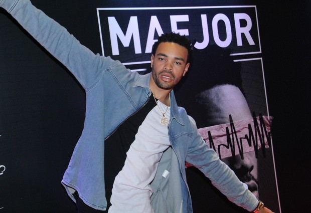 O rapper e DJ Maejor, atração musical da after de Bieber no Rio (Foto: Wallace Barbosa/AgNews)