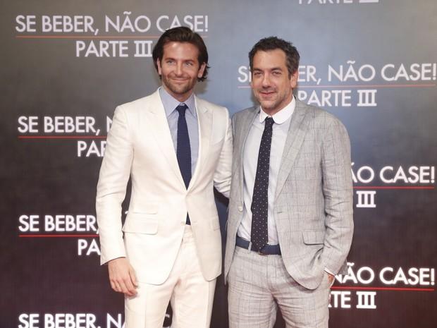 """Bradley Cooper na pré-estreia de """"Se Beber Não Case: Parte 3"""" (Foto: Roberto Filho / AgNews)"""