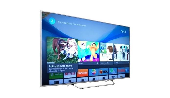 Sony começa a pré-venda de sua linha de TVs 4K com Android (Foto: Divulgação)