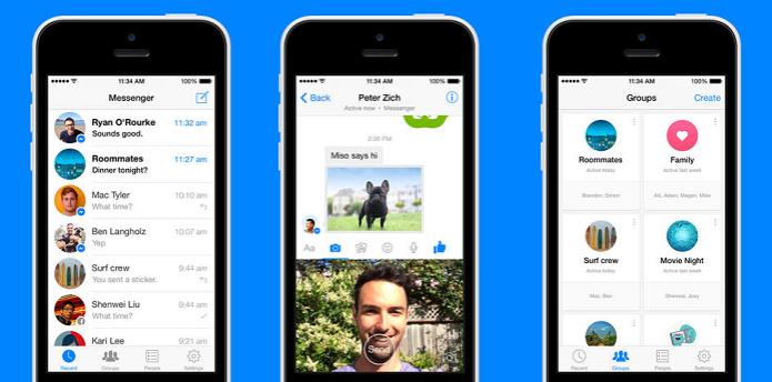 Facebook Messenger vai ganhar um companheiro (Foto: Divulgação Facebook) (Foto: Facebook Messenger vai ganhar um companheiro (Foto: Divulgação Facebook))