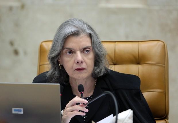 A ministra Cármen Lúcia , presidente do Supremo Tribunal Federal (STF) (Foto: Rosinei Coutinho/SCO/STF)