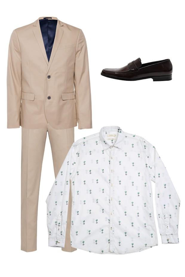 Blazer Renner ($279), calça Ermenegildo Zegna (R$ 2.035), sapato Sergio K (R$ 429) e camisa Foxton (R$ 249) (Foto: Divulgação)