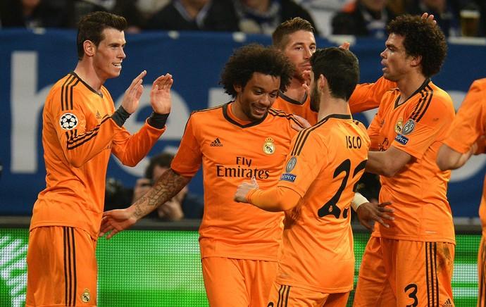 Bale Schalke 04 x Real Madrid (Foto: AFP)