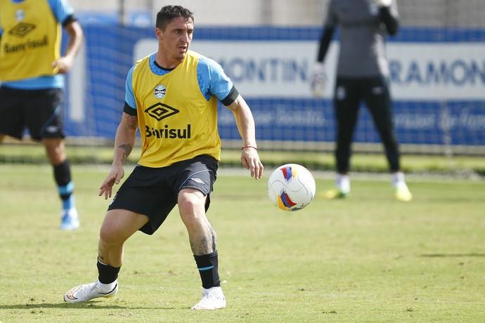 Cristian Rodríguez Grêmio meia uruguaio cebolla (Foto: Lucas Uebel/Grêmio)