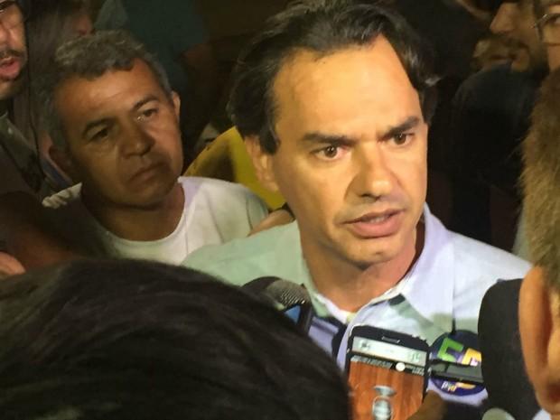 Marquinhos Trad (PSD), candidato à prefeitura de Campo Grande (Foto: Gabriela Pavão/ G1 MS)