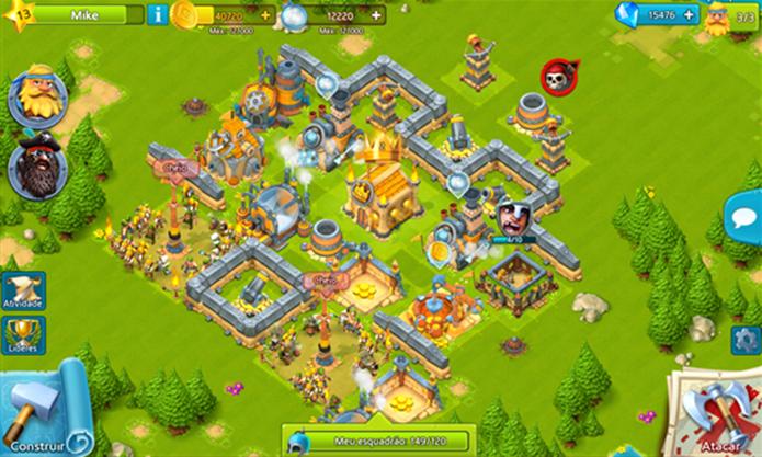 Cloud Raiders é um game para Windows Phone onde usuário deve construir e fortificar sua cidade (Foto: Divulgação/Windows Phone Store)