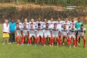 Time do Vilavelhense em jogo-treino (Foto: Divulgação/Vilavelhense F.C)