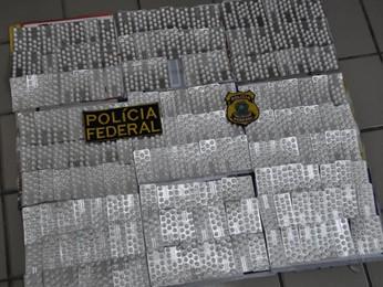 Total apreendido foi de 9 mil comprimidos, juntando as duas ações policiais (Foto: Divulgação/Polícia Federal)