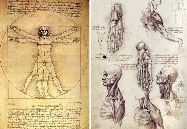 """O """"Codex Leicester"""" de Leonardo Da Vinci (Foto: Wikimedia Commons/Wikipedia)"""