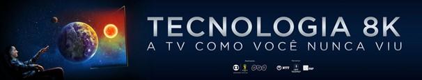 A Globo prepara, durante o mês da Copa do Mundo, série de apresentações da nova tecnologia 8K, a TV em ultra alta definição (Foto: Divulgação)