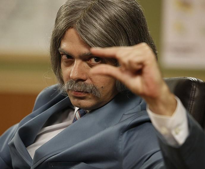 Bruno Mazzeo é encarna papel de Professor Raimundo (Foto: Raphael Dias/Gshow)