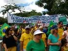 Protesto na região onde Lula nasceu em PE 'pede desculpas ao Brasil'