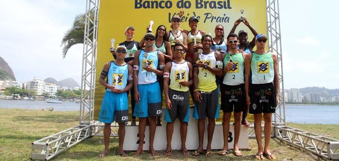 circuito nacional de vôlei de praia, vôlei de praia, etapa do rio de janeiro, circuito nacional etapa rio de janeiro (Foto: Divulgação / FIVB)