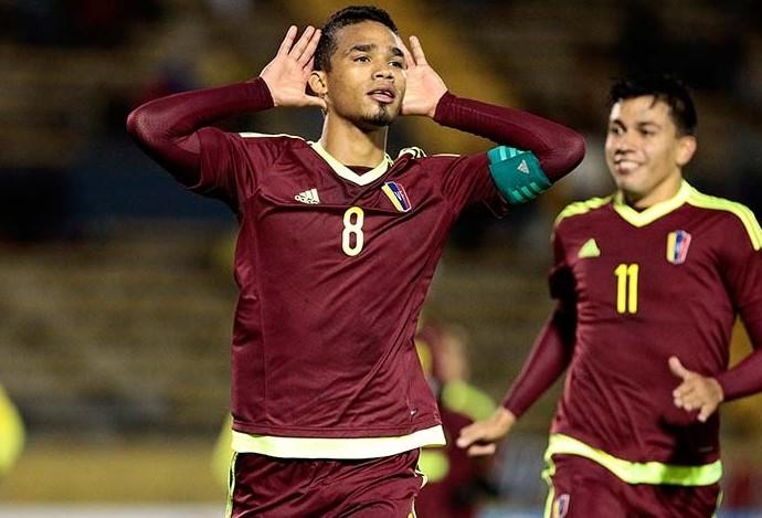 Herrera Venezuela x Equador Sul-Americano Sub-20 (Foto: Reprodução/Twitter)