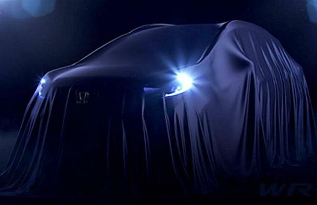 Teaser do novo Honda WR-V (Foto: Divulgação)