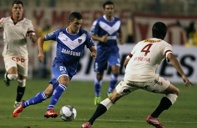 Universitario 0 x 1 Vélez Sarsfield, Libertadores (Foto: EFE)