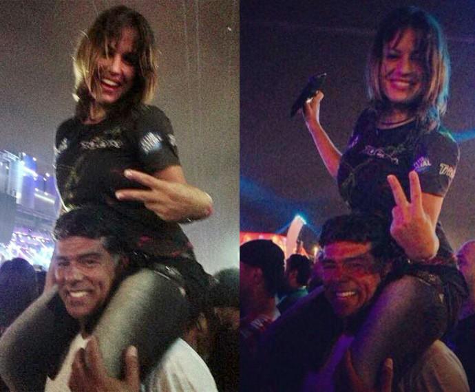 Bianca Assunção conta sobre o namoro com Maurício Mattar, que começou no Rock in Rio (Foto: Arquivo pessoal)