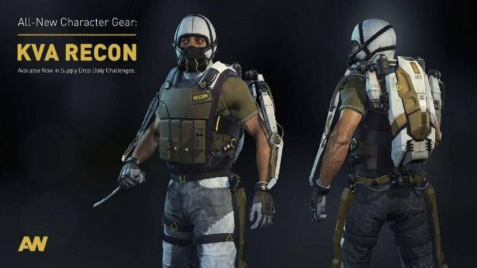 Call of Duty: Advanced Warfare dará partes da nova armadura KVA Recon como prêmios nos desafios diários (Foto: Divulgação)