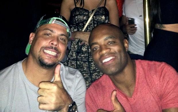 UFC Anderson silva festa (Foto: Evelyn Rodrigues)