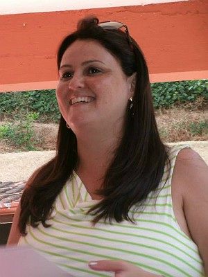 Perda de peso Cássia Araújo em Juiz de Fora (Foto: Cássia Araújo/Arquivo Pessoal)