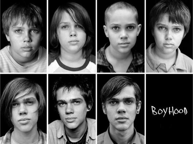 Evolução de Ellar Coltrane no filme 'Boyhood' (Foto: Divulgação/IFC Films)