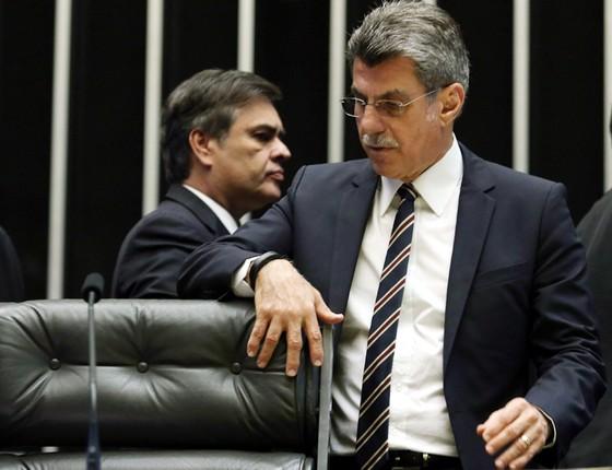 Senador Romero Jucá (Foto: André Coelho/Agência O Globo)
