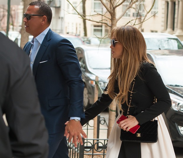 Jennifer Lopez e Alex Rodriguez (Foto: Grosby Group)