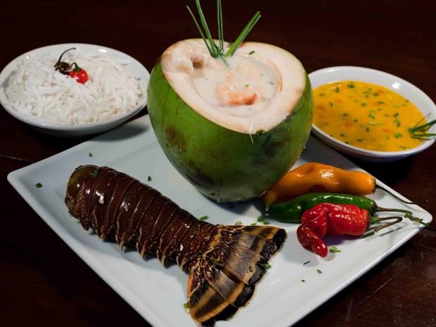 Sugestão de prato que está no menu de um dos restaurantes participantes do evento (Foto: Daniel Gomes/Divulgação)