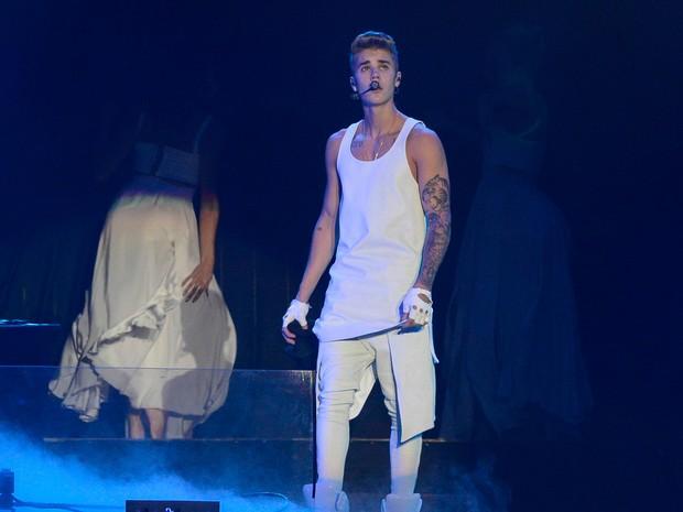 Show do Justin Bieber em SP (Foto: Flávio Moraes/G1)
