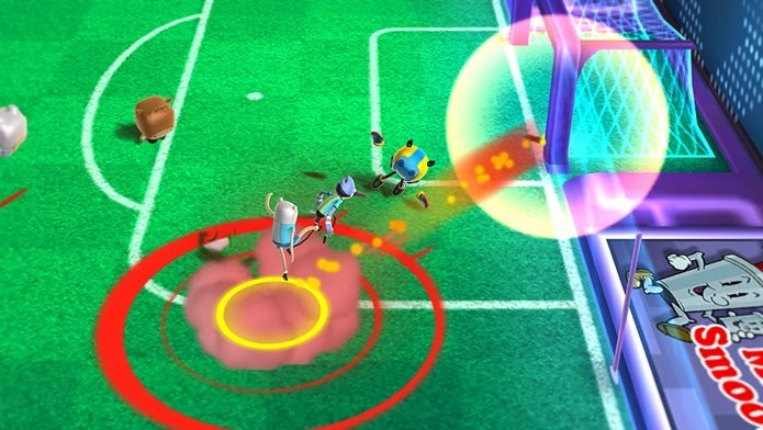 Copa Toon reúne personagens de desenho animado para uma partida de futebol (Foto: Divulgação)