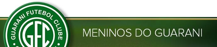 Header Especial MENINOS DO GUARANI (Foto: infoesporte)