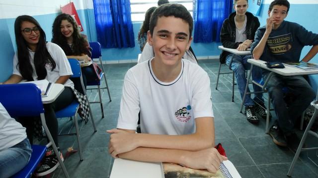 1º Colocado - João Vitor Souza Rocha - 229.968 votos (Foto: Renata Lins)