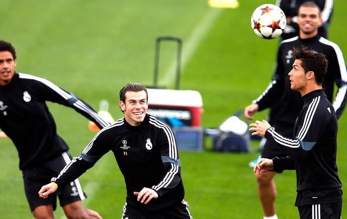 Bale, Treino Real Madrid (Foto: Agência Reuters)