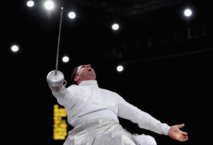 Jovane Guissone esgrima paralimpíadas (Foto: Getty Images)