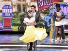 Giovanna Lancellotti e Jonatas Faro encantam os jurados com 'Grease'