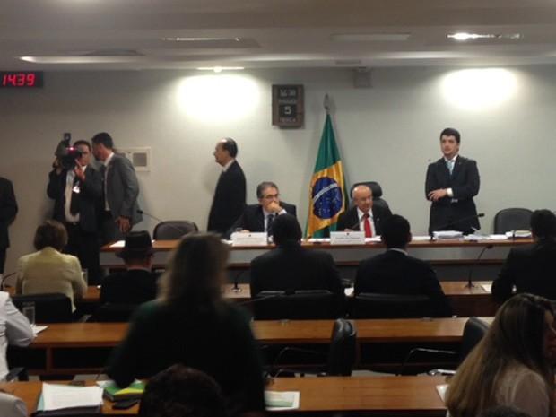 Comissão especial aprova MP 664, que restringe acesso a pensão por morte (Foto: Nathalia Passarinho / G1)