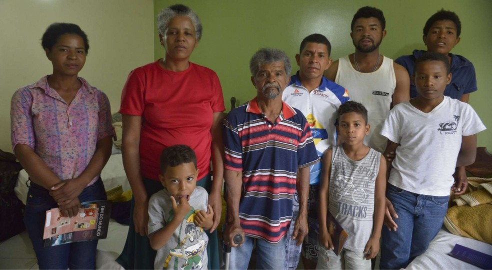 Família trabalhava em condições análogas à escravidão no Espírito Santo (Foto: Edson Chagas/ A Gazeta)