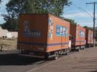 Grupo rouba 3 caminhões com carga de eletrônicos em Mogi Guaçu, SP