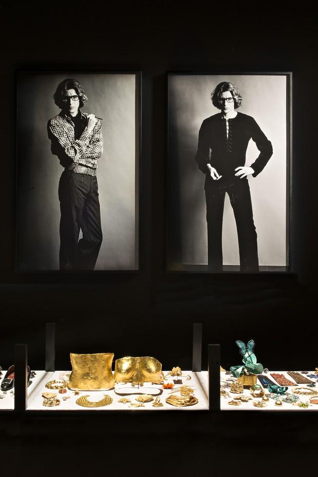 A display inside the new Yves Saint Laurent Museum in Marrakesh (Foto: FONDATION PIERRE BERGÉ-YVES SAINT LAURENT)