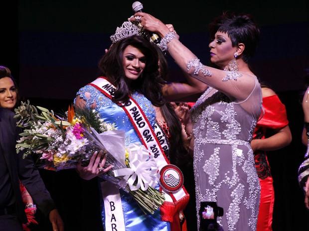 Sheron Correa vence o Miss São Paulo Gay 2016 (Foto: Celso Tavares/ EGO)
