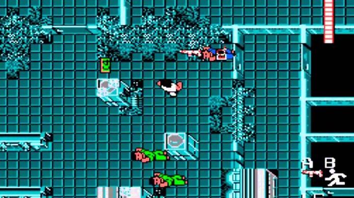 Devido às dificuldades da jogabilidade, John McClane não é tão duro de matar no Die Hard do NES (Foto: Reprodução/YouTube)