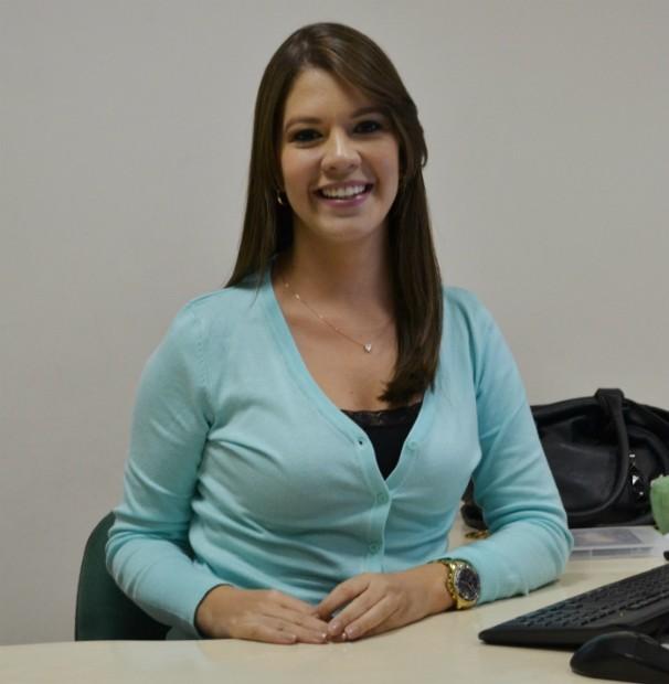 Tâmara Oliveira apresenta o GE Se desta quarta-feira, 1º (Foto: Divulgação / TV Sergipe)