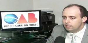 Advogado Bruno Costa Saldanha compõe comissões da OAB no RN (Foto: Arquivo Pessoal)