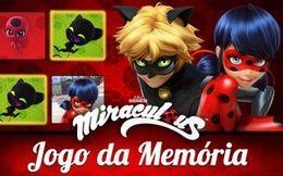 Jogo da memória Miraculous