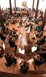 Orquestra Sinfônica da Bahia (Foto: Lara Carvalho/Teatro Castro Alves)