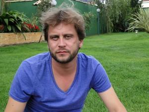 Filho do cineasta Glauber Rocha, Eryk Rocha, segue os passos do pai e lança filme em Tiradentes (Foto: Pedro Cunha / G1)