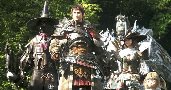 Final Fantasy 14 em oferta na PSN (Foto: Divulgação)