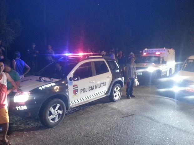 Jovem foi morto às margens da RN-160, segundo a Polícia Militar (Foto: Divulgação/PM)