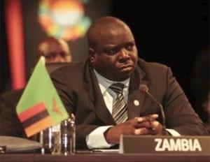 Ministro de Esporte de Zâmbia, Chishimba Kambwili (Foto: Reprodução)